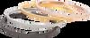 Schwarze EMBRACE DESIGN Armband CHARLOTTE  - small