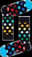 Schwarze HAPPY SOCKS Socken BIG DOT  - medium