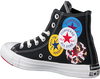 Schwarze CONVERSE Sneaker high CHUCK TAYLOR AS MULTI LOGO  - small