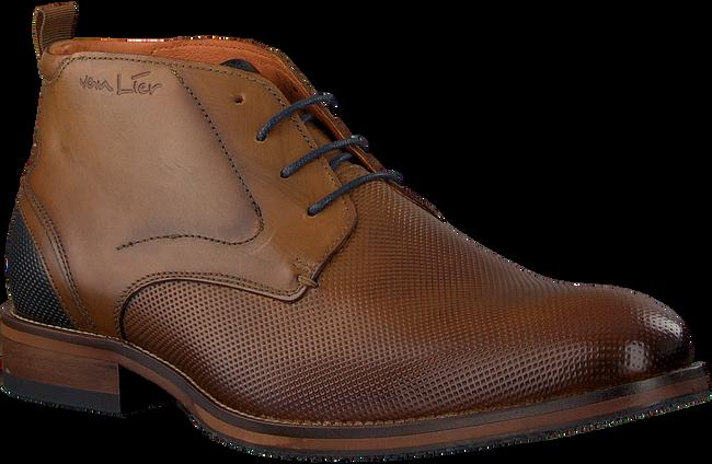 Cognacfarbene VAN LIER Business Schuhe 1959225  - large