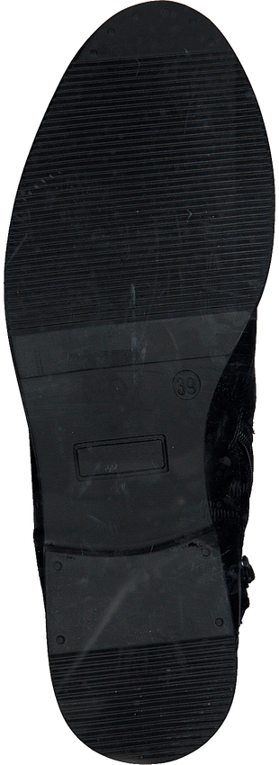 Schwarze OMODA Schnürstiefel 16078 - larger