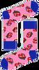 Mehrfarbige/Bunte HAPPY SOCKS Socken ROLLING STONES CANDY KISS SOCK  - small