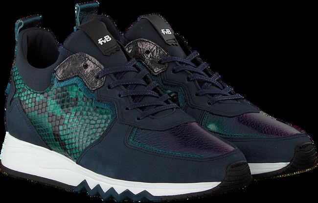 Blaue FLORIS VAN BOMMEL Sneaker 85288  - large