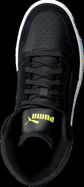 Schwarze PUMA Sneaker REBOUND LAYUP SD JR  - large
