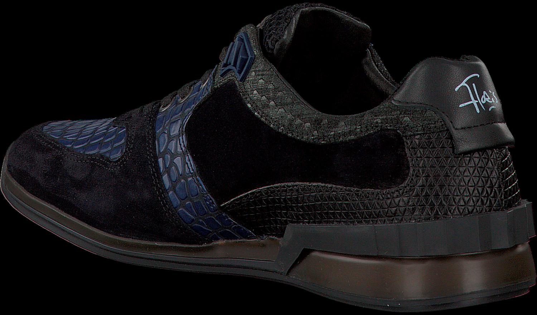 blaue floris van bommel sneaker 16213 schuhmode online. Black Bedroom Furniture Sets. Home Design Ideas