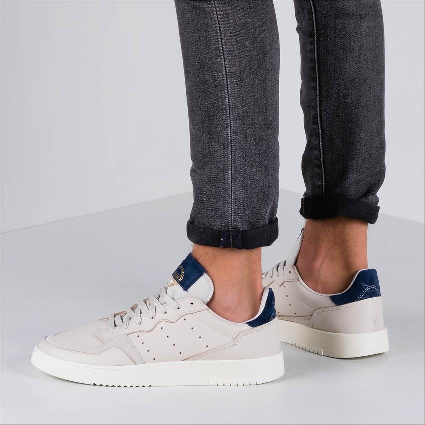 Beige ADIDAS Sneaker SUPERCOURT  - larger