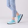 Blaue FLORIS VAN BOMMEL Sneaker low 85343  - small