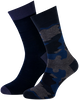 Blaue MARCMARCS Socken MM DOMINIC COTTON 2-PACK - small