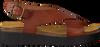 Cognacfarbene RED RAG Sandalen 78052 - small