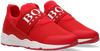 Rote BOSS KIDS Sneaker low BASKETS  - small