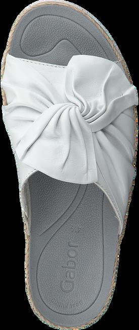 Weiße GABOR Pantolette 729 - large