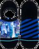 Mehrfarbige/Bunte XPOOOS Socken CITYLIGHTS INVISIBLE  - small