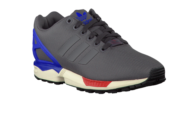 Graue ADIDAS Sneaker ZX FLUX KIDS - large