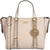 Graue GUESS Handtasche EILEEN SATCHEL  - small