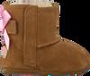 Cognacfarbene UGG Babyschuhe JESSE BOW II - small