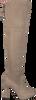Taupe UNISA Overknees PALMA  - small