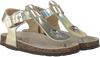 Goldfarbene OMODA Sandalen 81 - small