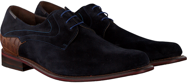 Blaue FLORIS VAN BOMMEL Business Schuhe 18079 - large