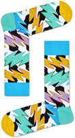 Mehrfarbige/Bunte HAPPY SOCKS Socken ROCK N ROLL POLKA STRIPE  - medium