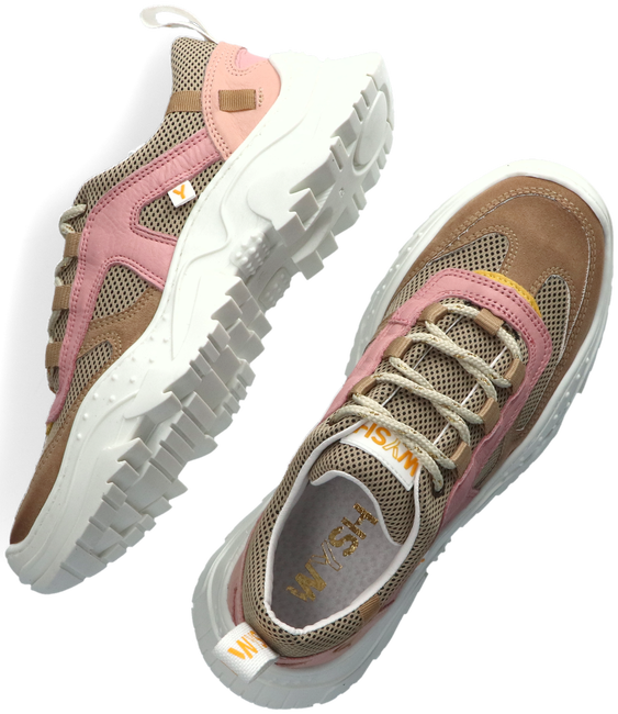 Taupe WYSH Sneaker low EMILEE  - large