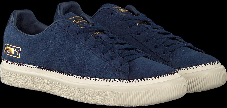 Blaue PUMA Sneaker SUEDE TRIM Omoda