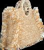 Beige BECKSONDERGAARD Handtasche MIX FALKA BAG  - small