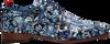 Blaue REHAB Business Schuhe FRED BROOD  - small