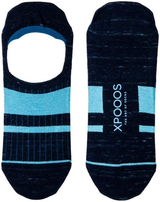 Blaue XPOOOS Socken ESSENTIAL  - large
