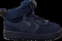 Schwarze NIKE Sneaker high COURT BOROUGH MID WINTER KIDS  - medium