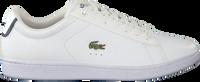 Weiße LACOSTE Sneaker CARNABY EVO HEREN  - medium