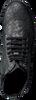 Schwarze CLIC! Schnürboots 9584 - small