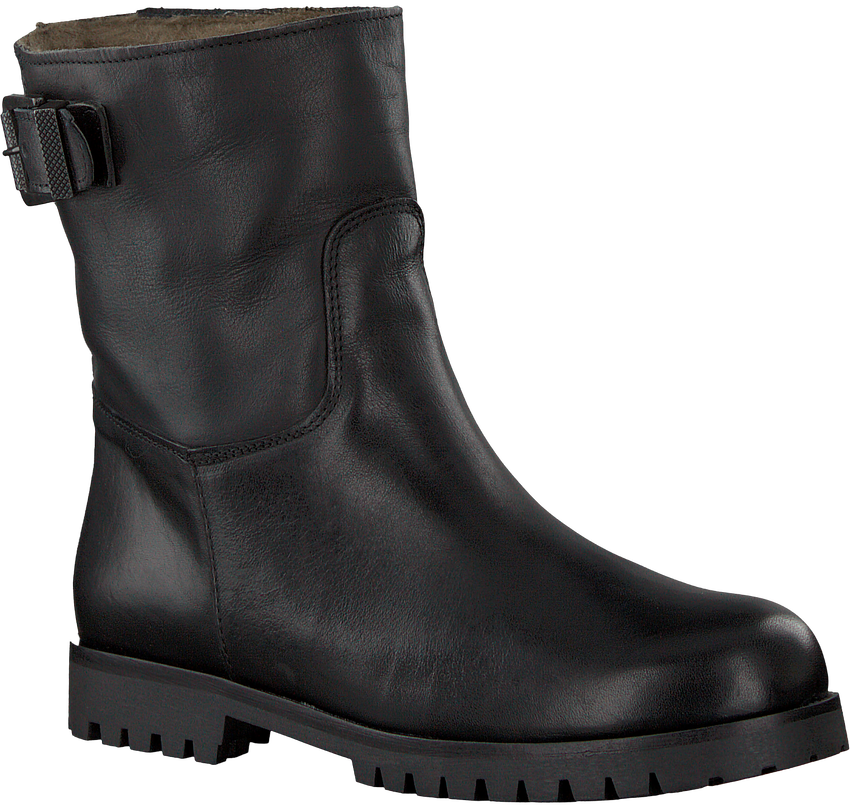 Schwarze OMODA Ankle Boots 8301 - larger