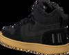 Schwarze NIKE Sneaker COURT BOROUGH MID WINTER KIDS - small