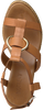 Cognacfarbene NOTRE-V Sandalen 438015  - small