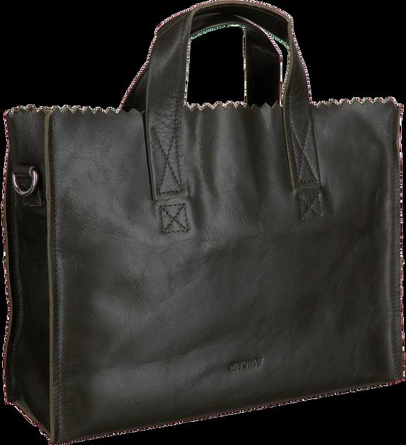 Grüne MYOMY Umhängetasche MY PAPER BAG HANDBAG CROSS BOD  - large