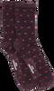 Rote BECKSONDERGAARD Socken DOTEA GLITZY SOCK  - small