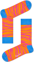 Schwarze HAPPY SOCKS Socken ZEBRA - medium