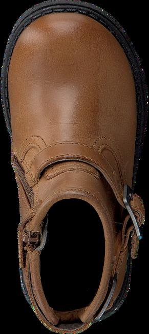 Cognacfarbene BUNNIES JR Biker Boots TINA TROTS - large