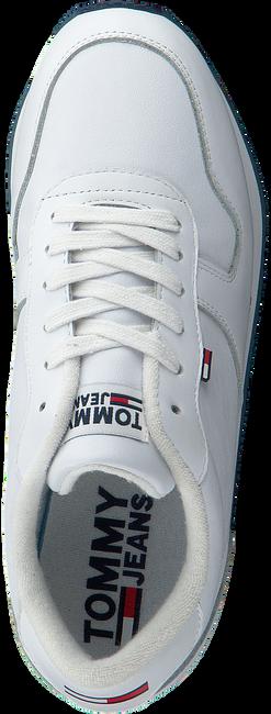 Weiße TOMMY HILFIGER Sneaker low FLATFORM RUNNER  - large