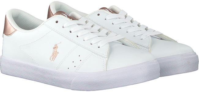 Weiße POLO RALPH LAUREN Sneaker low THERON  - large