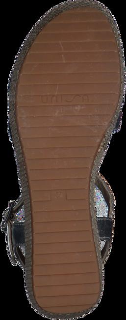 Silberne UNISA Sandalen TICOR - large