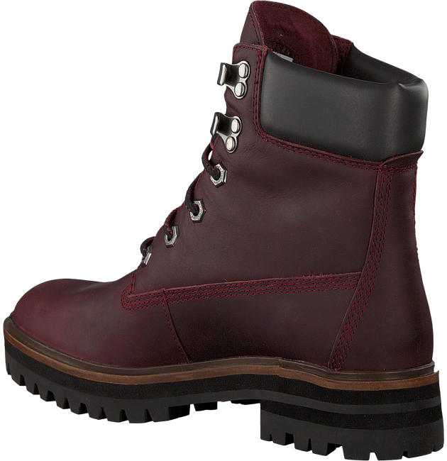 Braune TIMBERLAND Schnürboots LONDON SQUARE 6IN BOOT - large