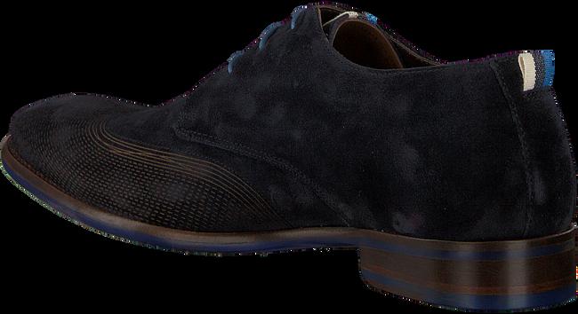 Blaue FLORIS VAN BOMMEL Business Schuhe 18082  - large