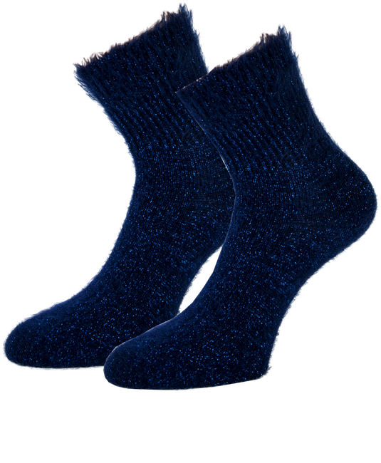Blaue MARCMARCS Socken ALEXIA - large