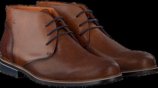 Cognacfarbene VAN LIER Business Schuhe 1955631  - large