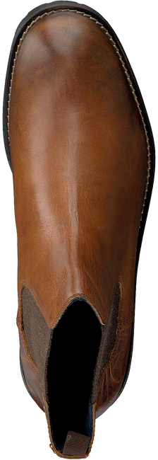 Cognacfarbene OMODA Chelsea Boots 80076 - large