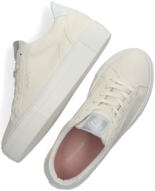 Weiße FLORIS VAN BOMMEL Sneaker low 85333  - large