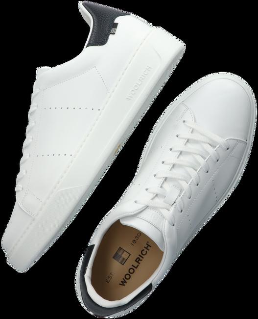 Weiße WOOLRICH Sneaker low SNEAKER SUOLA SCATOLA MAN CALF  - large