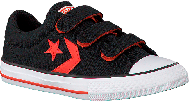 Schwarze CONVERSE Sneaker STAR PLAYER EV 3V OX KIDS - large