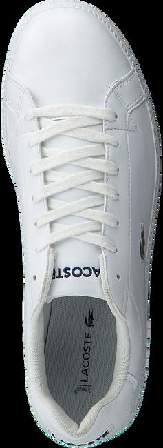 Weiße LACOSTE Sneaker GRADUATE  - large